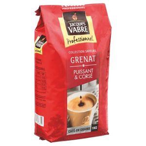 CAFÉ Jacques Vabre Grenat Café En Grains 1Kg
