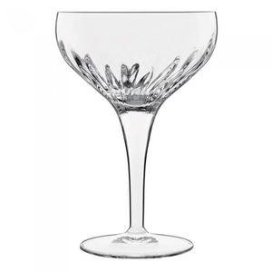 6 verres chic boule rond sur pied cocktail apero aperitif MARTINI ROYALE neuf