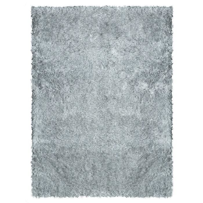 tapis de salon shaggy love gris 160x230 cm achat vente tapis 100 polyester cdiscount. Black Bedroom Furniture Sets. Home Design Ideas