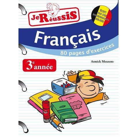Je Reussis Francais 3e Annee Du Primaire Achat Vente