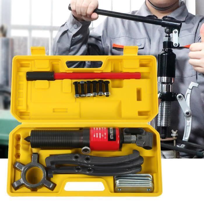 10 tonnes hydraulique Gear séparateurs de Arrache moyeu Extracteur Roulement Garage Outil Kit - YES -XNAHB029