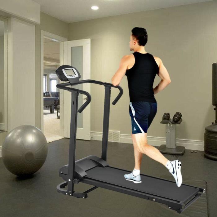 Paneltech Tapis De Marche Pliable Pliant Fitness Tapis de Course avec Ecran LCD