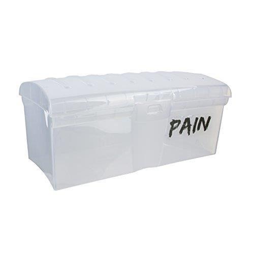 Easy Make KB5766 Boîte à Pain de mie, Plastique, Transparent, 29 x 14 x 12,5 cm KB5766
