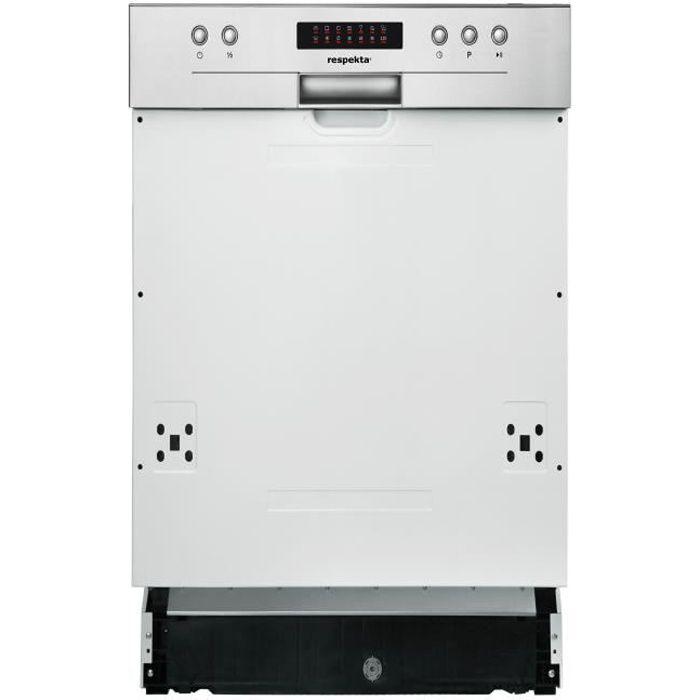 respekta lave-vaisselle lave-vaisselle lave-vaisselle encastrable partiellement intégré 45 cm A ++