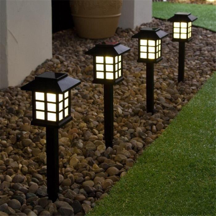 Changement de couleur LED jardin lumière solaire extérieur étanche lampe au sol paysage pelouse lumière solaire LED po - RGB -