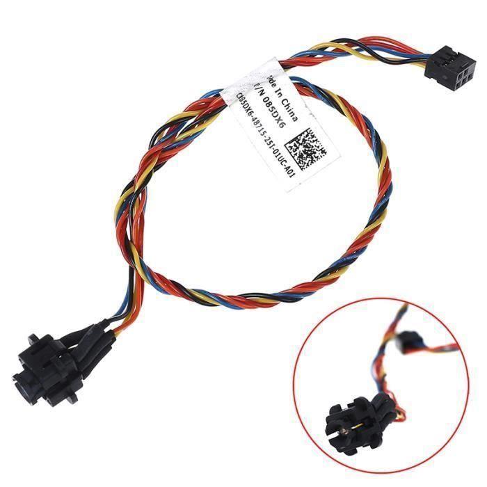 AGES Pour optiplex 390 790 990 7010 MT SFF PC bouton d 'alimentation câble 30WGC