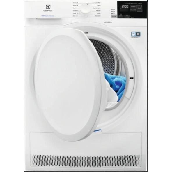 Electrolux EW8H4821RA Sèche-linge indépendant largeur : 60 cm profondeur : 60 cm hauteur : 85 cm chargement frontal blanc