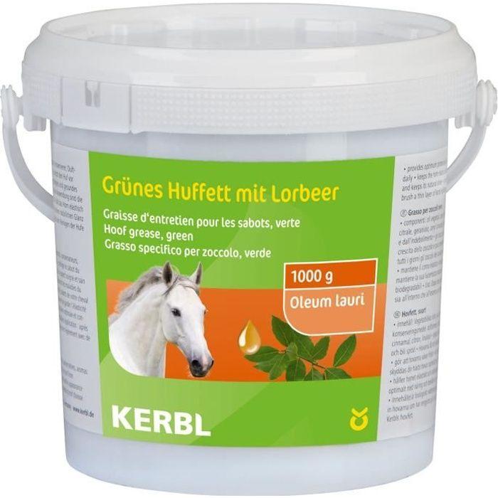 KERBL Graisse pour sabot - 1000ml - Vert - Pour cheval