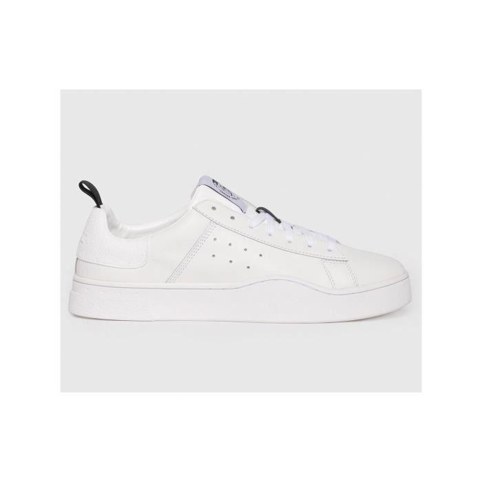 Clever - Baskets en cuir - blanc
