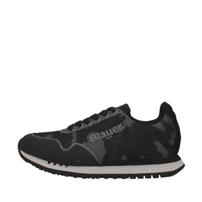 Blauer F0DENVER05/CAM chaussures de tennis faible homme NOIR