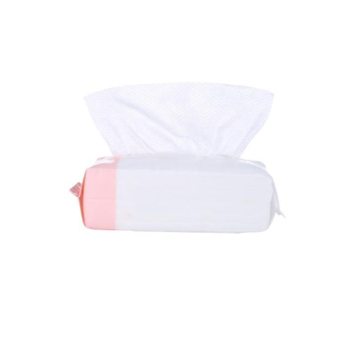 1Pc lingettes de nettoyage du visage pour le tissu de coton accessoires pour gant de toilette pratique LINGETTE DEMAQUILLANTE