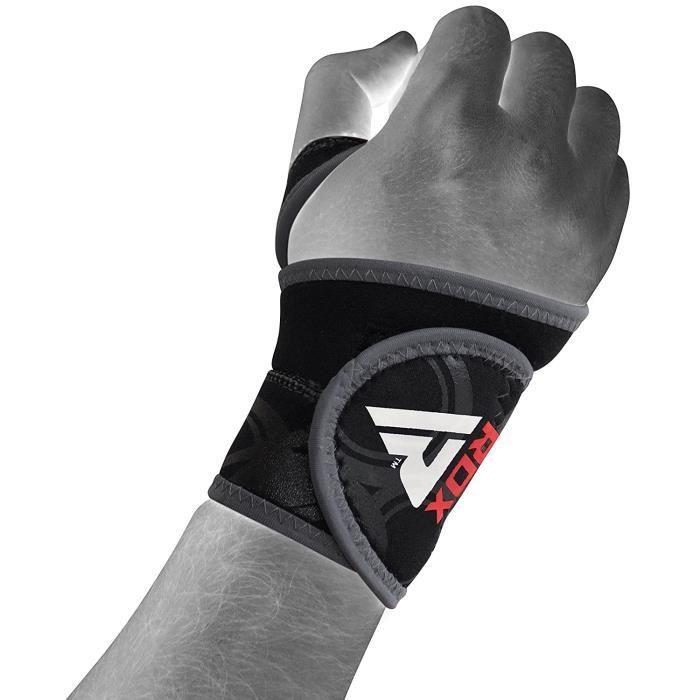 RDX Protège Poignet Poids Support Musculation Bande Sangle D'entrainement Fitness (Le Paquet Contient Une Seule Pièce)