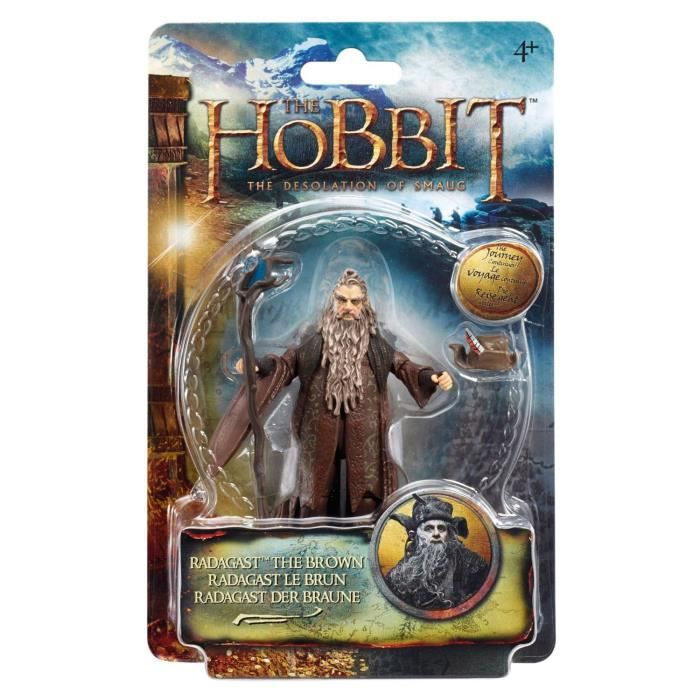 The Hobbit Desolation of Smaug - Radagast Le Brun - 3.75- Figurine