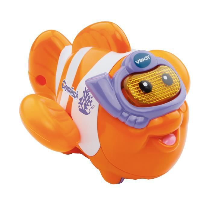 Vtech Baby 80–187304 – Tut Bain monde – Poisson Clown, Orange-Blanc