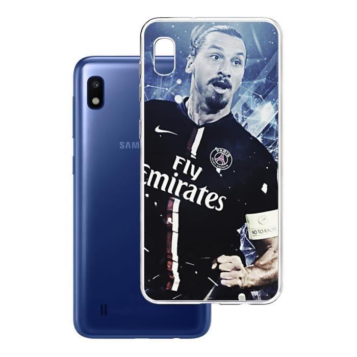 Coque Samsung Galaxy A10 - Football Zlatan Psg. Ac
