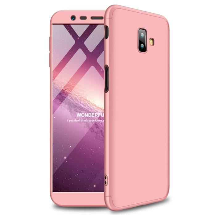 Coque Protection Etui Housse pour Samsung Galaxy J6 Motif Silicone Portable Intégrale Léger Anti