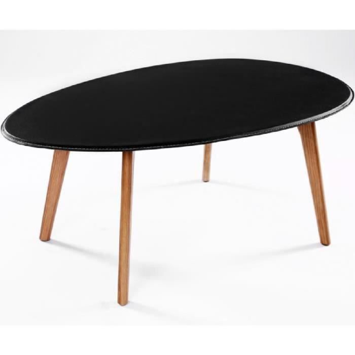 table basse gigogne design scandinave visby noir lot de 2 tables achat vente table basse. Black Bedroom Furniture Sets. Home Design Ideas