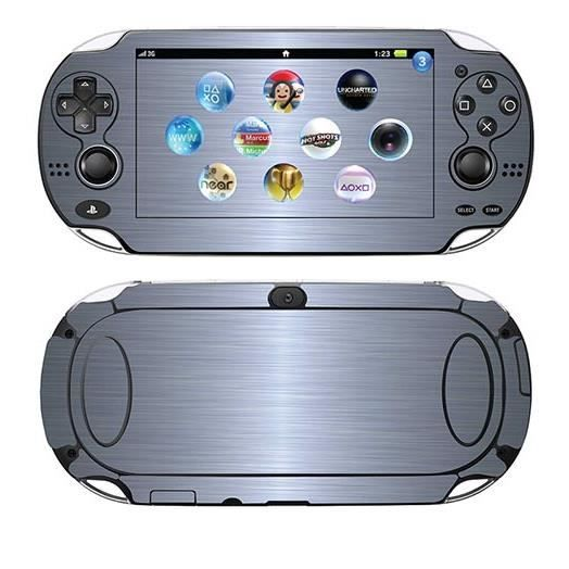 skin stickers pour sony ps vita sticker aluminium. Black Bedroom Furniture Sets. Home Design Ideas