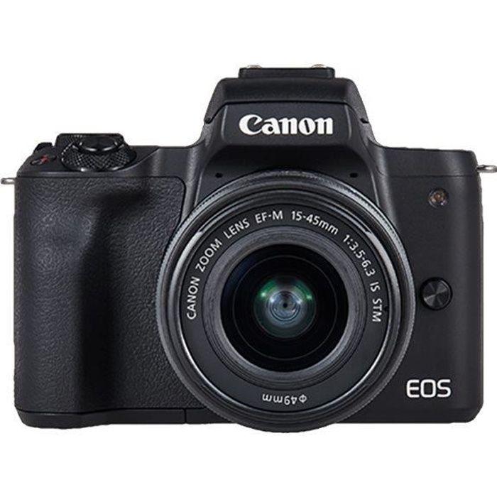 APPAREIL PHOTO HYBRIDE Canon EOS M50 Value-up Kit appareil photo numériqu