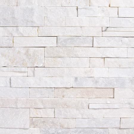 Parement En Pierre Quartzite Gris Blanc White Snow P 2 3cm Achat Vente Carrelage Parement
