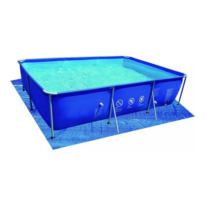 Jilong tapis protection piscine rectangulaire 330x309 cm for Protection piscine