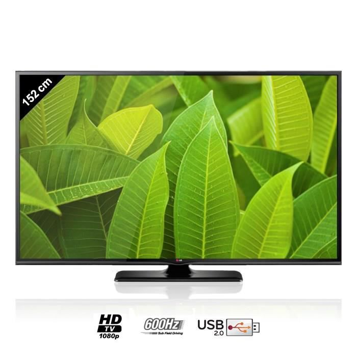 lg 60pb660v plasma smart tv 152 cm t l viseur plasma. Black Bedroom Furniture Sets. Home Design Ideas