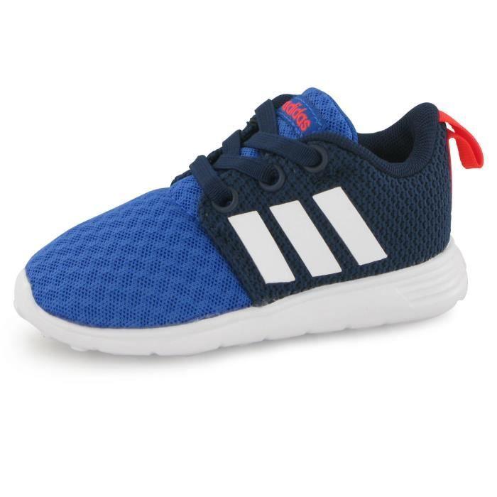 Adidas Neo Swifty Bb bleu, baskets mode enfant Bleu - Cdiscount ...