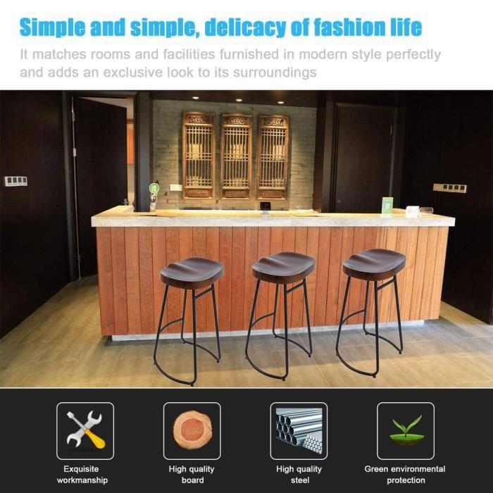 TABOURET DE BAR Tabouret de bar - chaise de salle A manger style i