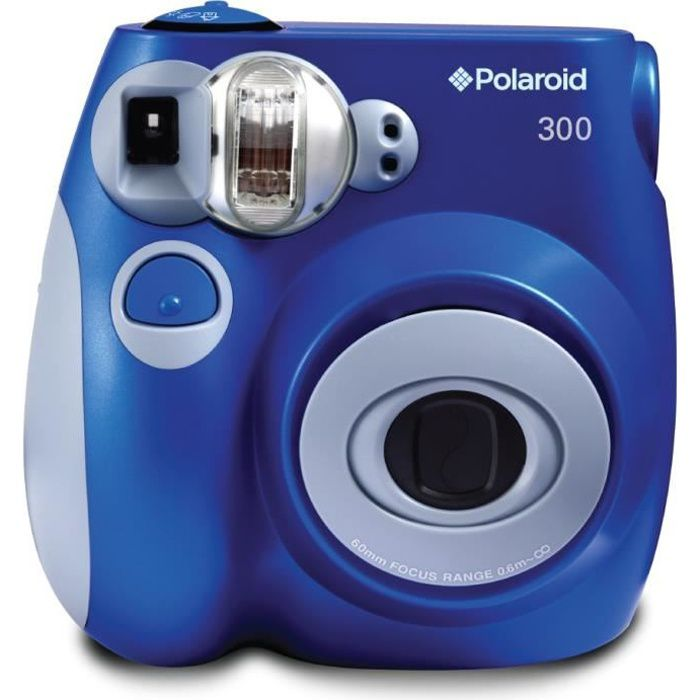 polaroid pic300 bleu appareil photo instantan compact achat vente app photo instantane. Black Bedroom Furniture Sets. Home Design Ideas
