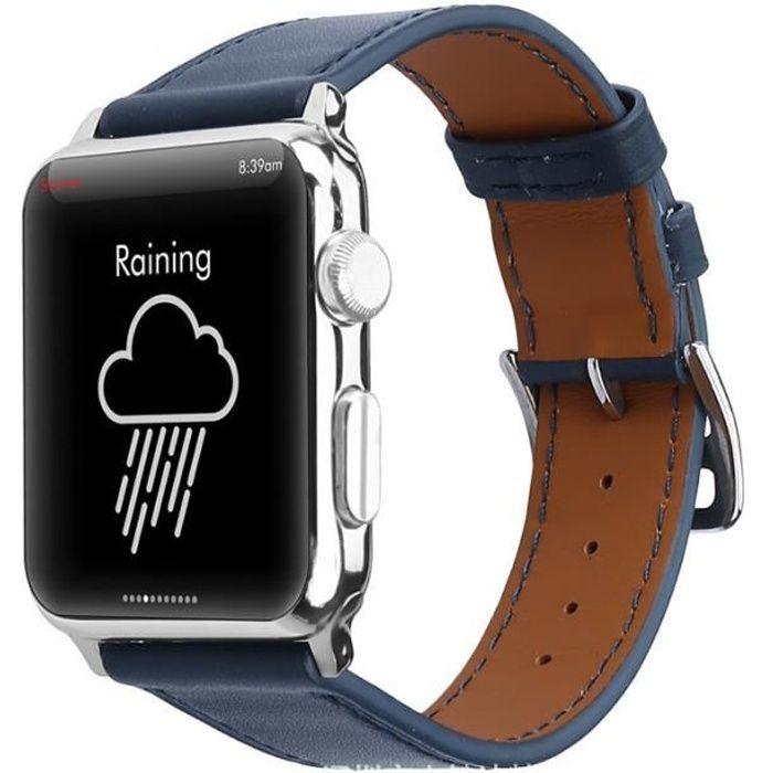 bracelet cuir iwatch