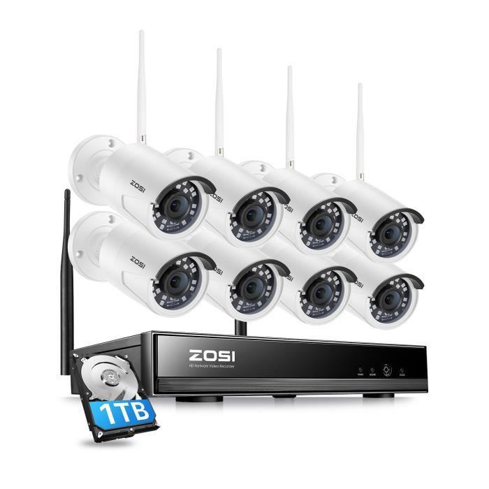 Kit De Surveillance Sans Fil Exterieur