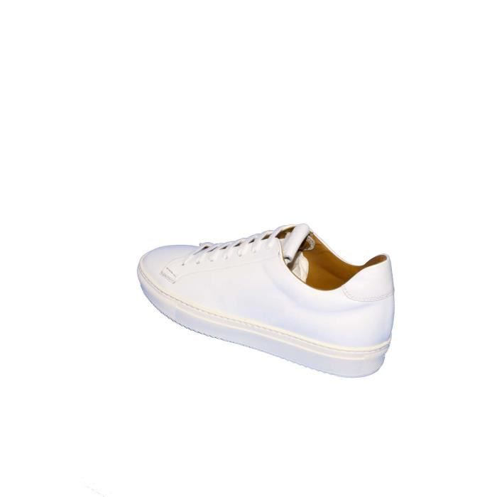 Doucal's Baskets Homme Blanc, 44