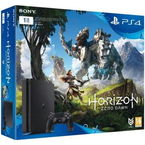 CONSOLE PS4 SONY COMPUTER Pack PS4 Slim 1 To + Horizon 0 Down
