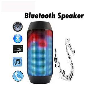 ENCEINTE NOMADE Électronique audio Bluetooth Speaker LED Lights Pu