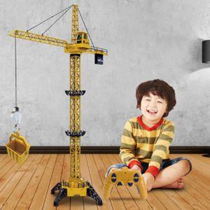CONSOLE ÉDUCATIVE DIY Tour électrique Grue à distance d'ingénierie d