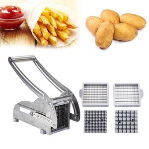 RÂPE Coupe-Frites et Légumes, Acier Inoxydable