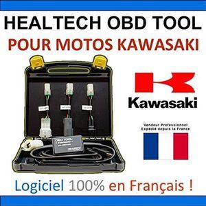 OUTIL DE DIAGNOSTIC Valise Diagnostic pour motos Kawasaki - HEALTECH O