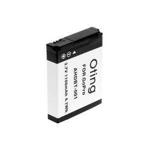 BATTERIE APPAREIL PHOTO AHDBT-001 - Batterie pour GOPRO Go Pro HD Hero