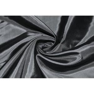 TISSU Tissu Taffetas Noire -Au Mètre