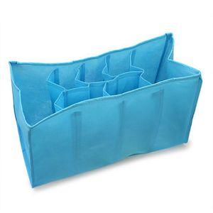 BOITE DE RANGEMENT 1x boîte de rangement en tissu portable sous-vêtem