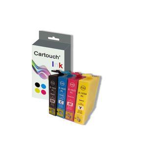 CARTOUCHE IMPRIMANTE Cartouch'Ink 16XL Pack 4 Cartouches d'Encre Compat