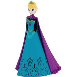FIGURINE - PERSONNAGE BULLY - Figurine Elsa Cape - La Reine Des Neiges D