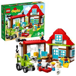 JEU D'ADRESSE Lego 10869 Duplo My Farm Town Construction Set Ave
