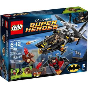 ASSEMBLAGE CONSTRUCTION LEGO Super Heroes Batman: Man-Bat Attack Play Set