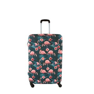 SAC DE VOYAGE Housse de valise taille M Flamant Rose 65 FLAMANT