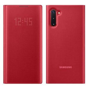 HOUSSE - ÉTUI Housse Samsung Galaxy Note 10 Étui Porte-carte LED