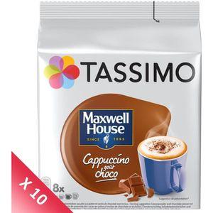 CAFÉ Tassimo Dosette Cappuccino Chocolat - Maxwell Capp