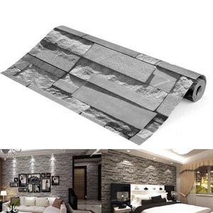 PAPIER PEINT TEMPSA 3D Papier Peint effet brique 10m x 0.53m