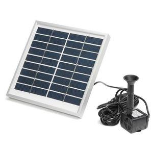 POMPE ARROSAGE TEMPSA Panneau solaire Pompe à eau Kit 3W 200L/h D