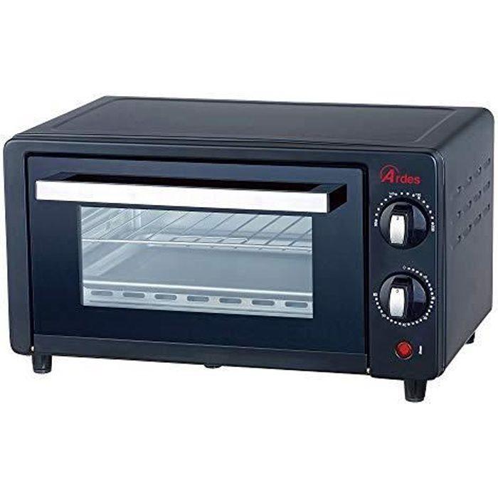 Ardes Mini four électrique Noir 10 L 800 W AR6210B